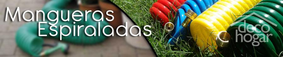 Te ofrecemos distintas opciones mangueras espiraladas, colores y medidas