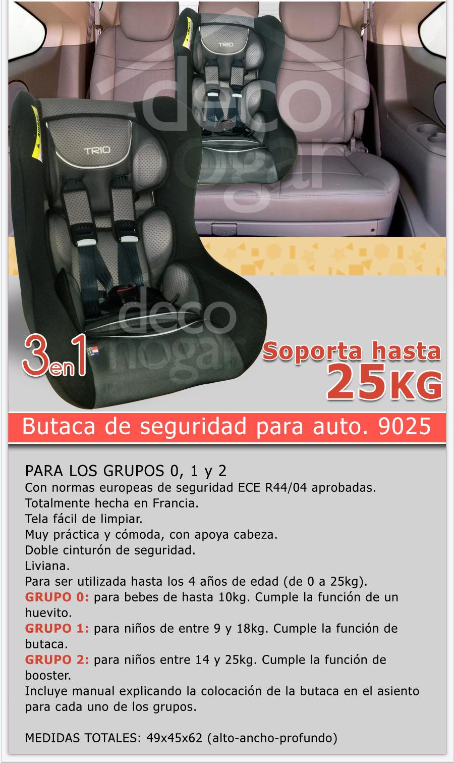 Butaca porta bebe huevito ni os bebesit 9025 hasta 25kg for Butaca de bebe para auto
