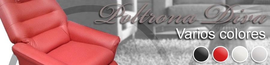Te ofrecemos distintos colores del sillon poltrona diva