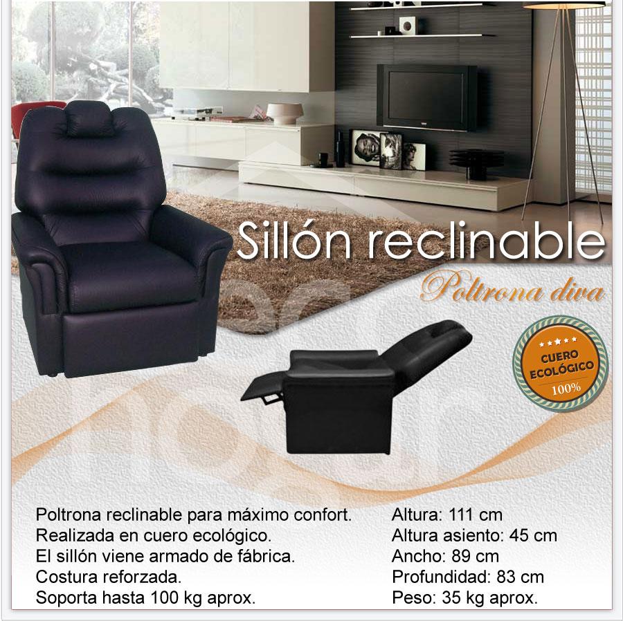 poltrona diva sillon color living distribuidor decohogar argentina