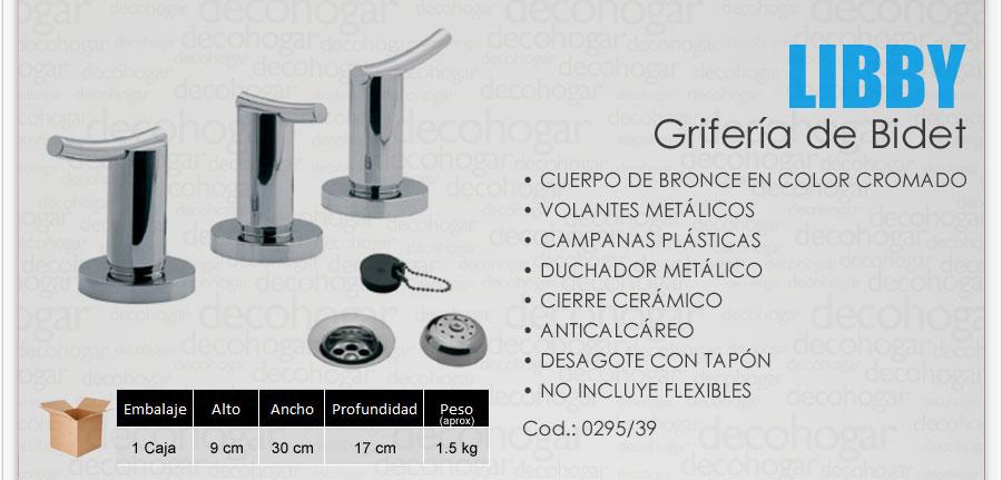 Grifer a fv libby combo lavatorio pared ducha bidet cfv627 for Griferia de ducha fv precios