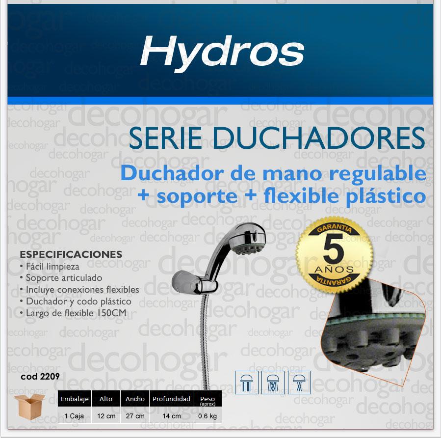 Set De Griferia Baño:Duchador De Mano Baño Regulable Soporte Flex Griferia Latina