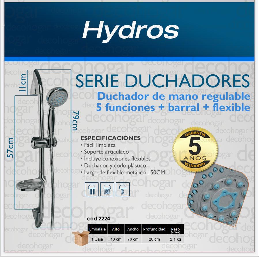 Extractor De Baño Funcion:Duchador De Mano Baño Barral 5 Funciones Soporte Grif Latina