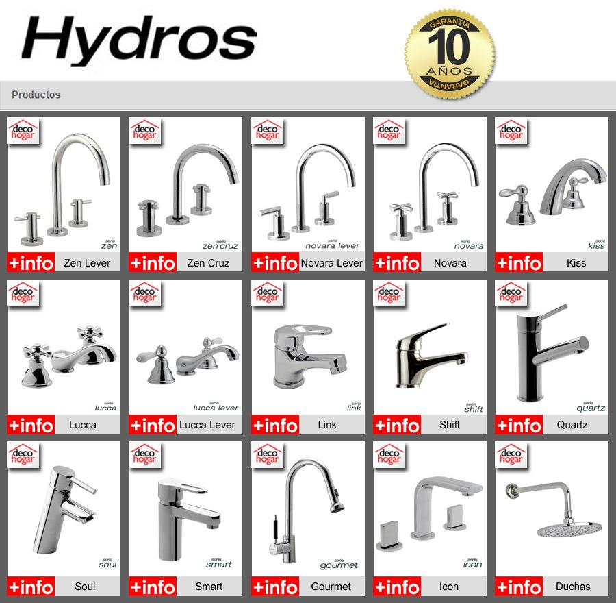 Griferia Para Baño Hydros:Combo Grifería Hydros Smart Baño Bidet Ducha Lavatorio Pared