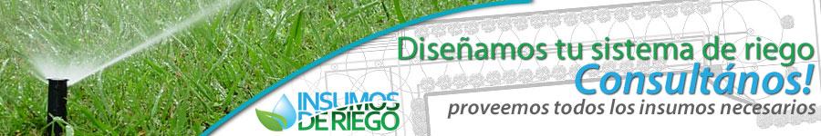 DISEÑAMOS TU SISTEMA DE RIEGO Y PROVEEMOS TODOS LOS INSUMOS NECESARIOS